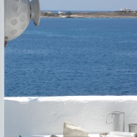 sea view from roof paros